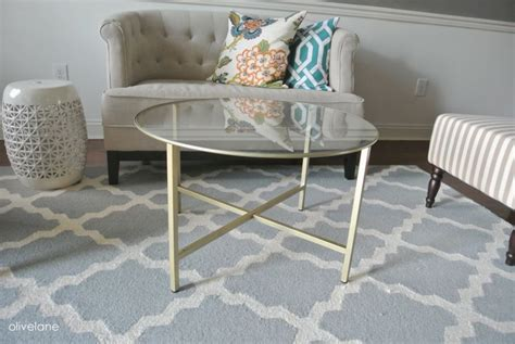 ikea hack coffee table golden coffee tables that bring glamor into your life