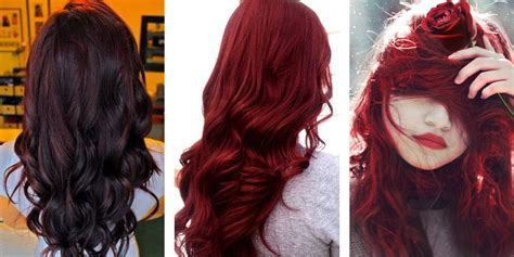 best shade of red most popular red hair color shades matrix