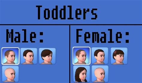 sims 3 basegame clothes and hair mod the sims no more base game hair toddlers and children