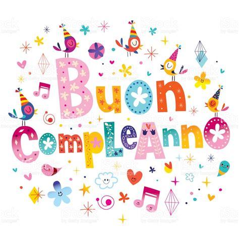 clipart buon compleanno buon compleanno joyeux anniversaire en italien cliparts