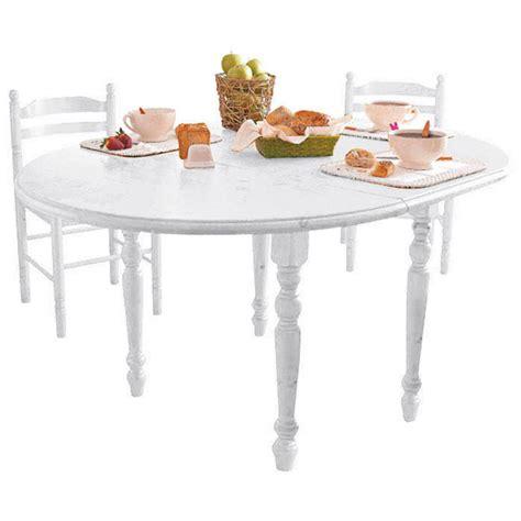 table cuisine ronde blanche table ronde avec allonge blanche province anniversaire