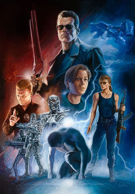 Kaos Ghostbusters D P terminator 2 judgement day by leo leibelman