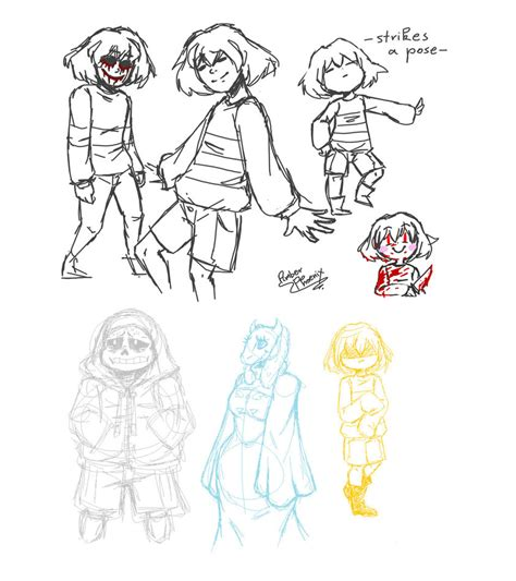undertale sketchbook warning mess of undertale sketches by amberphoenix42