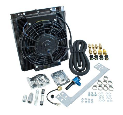 oil cooler fan kit oil cooler fan kit 96 plate cooler w fan empi full