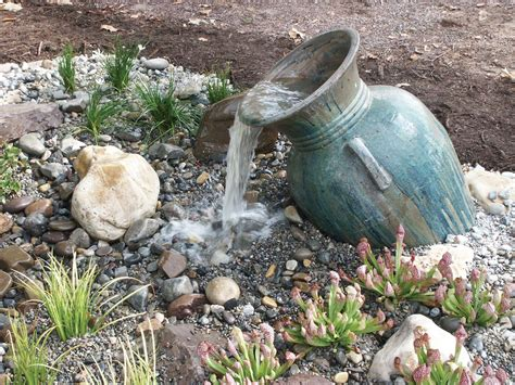 water features on backyard water feature