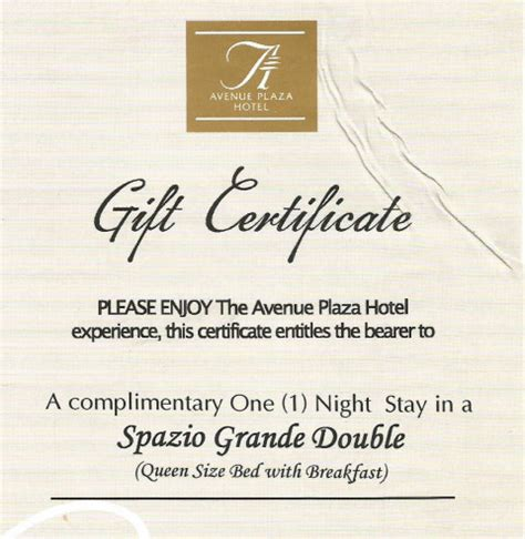 avenue plaza hotel gc giveaway | philippine contests and