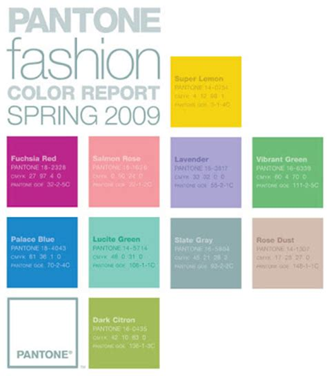 2008 Color Forecast anew designs color forecast for 2009