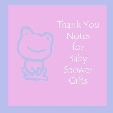 Thank You Note Template Baby Gifts How To Write Thank You Notes For Baby Shower Gifts