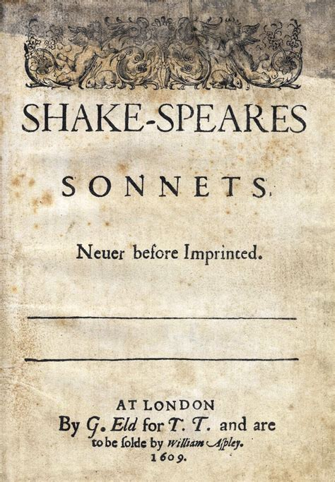 the sonnets books shakespeare s sonnets