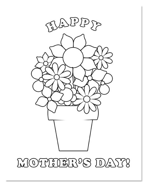happy mothers day coloring pages shine daily 183 happy s day coloring page 95 1 shine fm