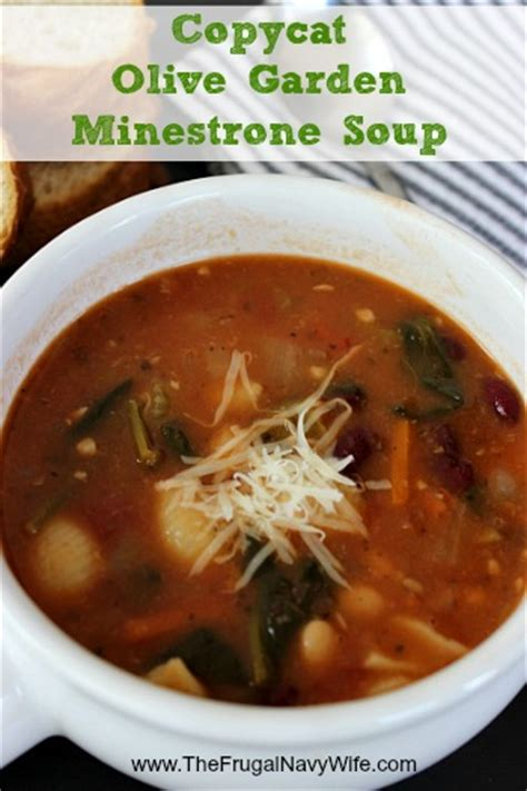 Copycat Olive Garden Minestrone by Warm Winter Soup Recipes