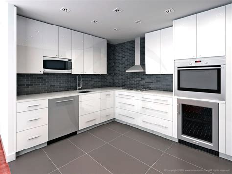 kitchen 3d architectural renderings of interiors