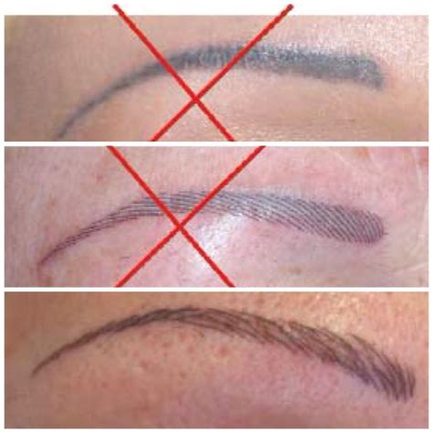 eyebrow hair stroke permanent makeup london om hair