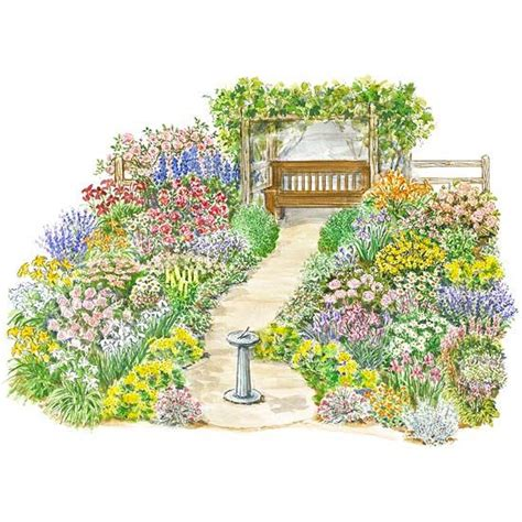 Flower Garden Designs And Layouts 27 Best Garden Plans Images On Pinterest Flowers Garden Backyard Ideas And Flower Beds