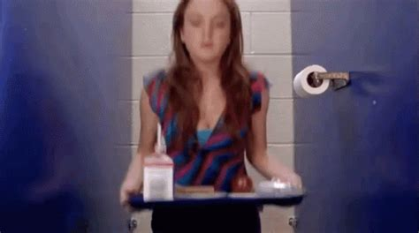 things to do in the bathtub alone loner gif bathroom meangirls loner discover share gifs