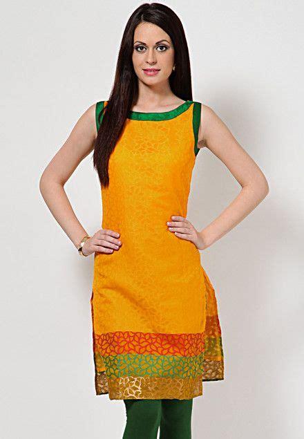 abhishti sleeve less self pattern green kurti buy women 131 best images about kurtis tunic tops on pinterest