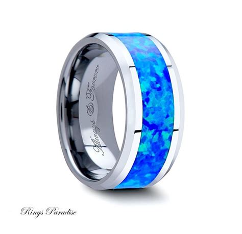 4mm 10mm personalized promise rings tungsten carbide ring