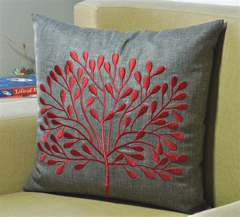 grey sofa with red cushions decorative pillow cover throw pillow cover couch by kainkain
