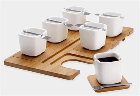 Midas Coffee Cup Cangkir Cappucino Mug Gelas Kopi 240ml espresso set with beautiful square cups