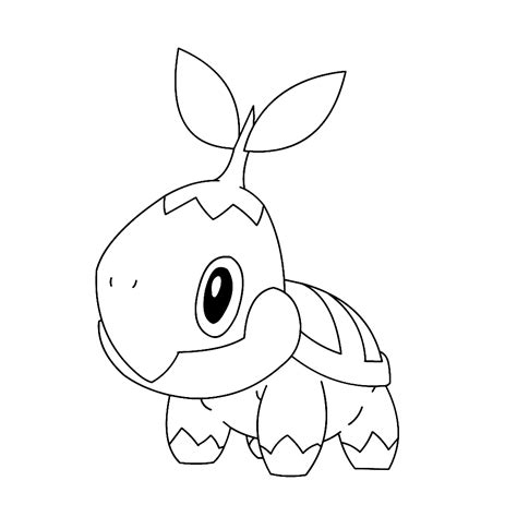 pokemon coloring pages torterra turtwig coloring pages www pixshark com images