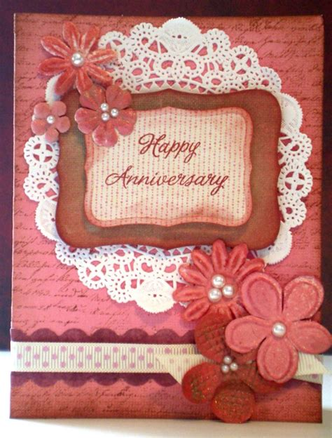 how to make wedding anniversary cards 2 7 happy anniversary cards templates excel pdf formats