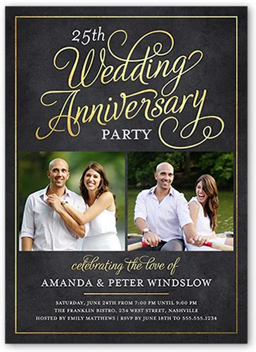 Wedding Anniversary Entertainment Ideas by 25th Anniversary Ideas And Themes Shutterfly