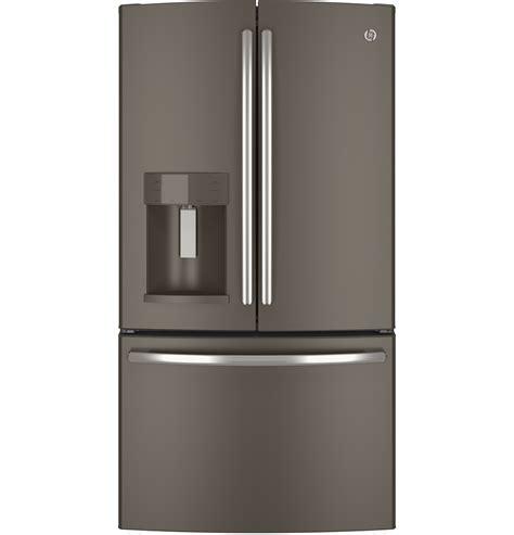 slate door refrigerator ge appliances gfe28hmhes 27 7 cu ft door