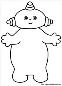 free iggle piggle piggle coloring pages