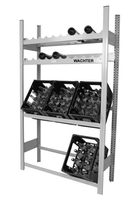 regal getränkekisten getr 228 nkekisten und weinflaschen regal mit je 2 ebenen