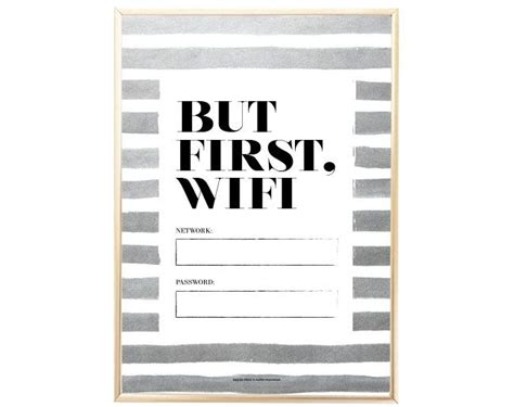 Best 25 Wifi Password Printable Ideas On Pinterest Wifi Password Show Wifi Password And Wifi Free Wifi Poster Template