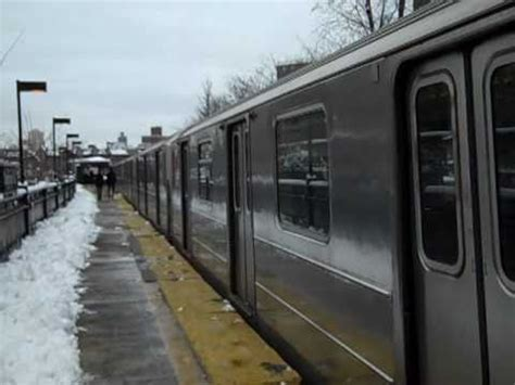 ferry bound video mta irt bway south ferry bound r62a 1 train departing