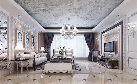 Neoclassical Decor by French Neo Classical Interior Design Living Room