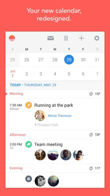 calendar design in android sunrise calendar app now available on android and desktop