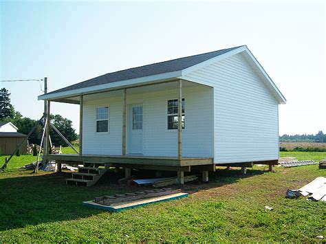 how to build a small house small house on prince edward island