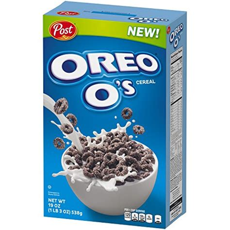 Oreo Sereal post oreo o s breakfast cereal oreo cookie 19 oz 5 pack buy in uae misc