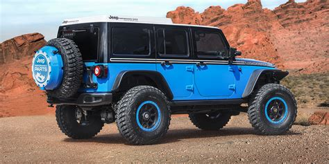 moab jeep concept moab easter safari delivers seven rugged jeep concepts