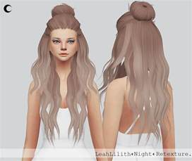 sims 4 cc for hair my sims 4 blog night hair retexture for females by kalewaa