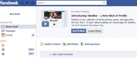 the open boat timeline enable facebook timeline right now how to redmond pie