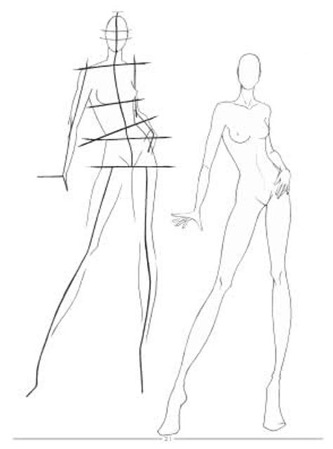 fashion design base fashion sketches body on how to draw for beginner