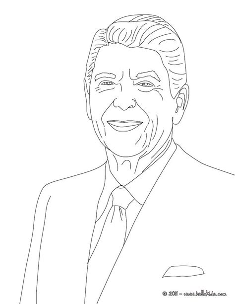 George W Bush Coloring Page by George W Bush Coloring Page 5123