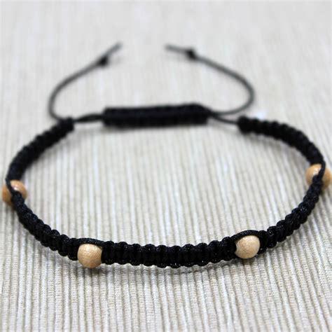 Handmade Bracelets For Guys - macrame bracelet patterns mens macrame bracelet mens