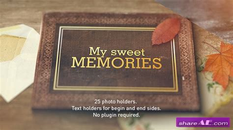 free photo album templates for after effects old memories album gallery videohive 187 free after
