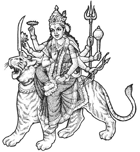 free coloring pages of hindu pictures