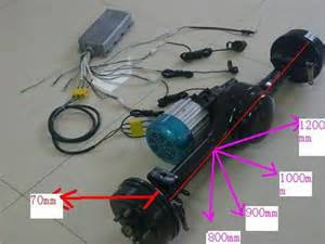 Electric Car Conversion Service Electric Car Conversion Kit Motor Rear Axle And Front Fork