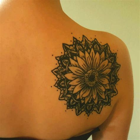 sunflower mandala tattoo 17 best ideas about sunflower mandala on