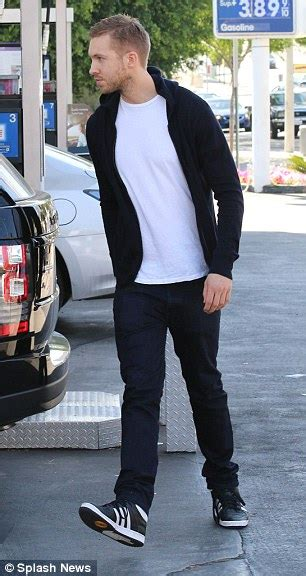 Hoodies Calvin Harris calvin harris visits gas station after cancelling las