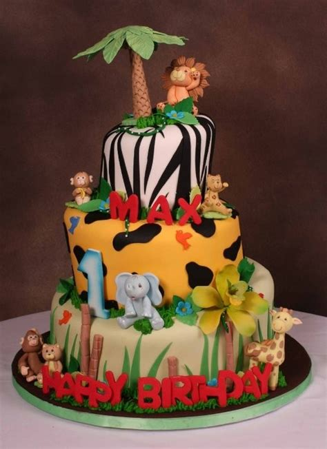 notice that it cake ideas and designs jungle theme birthday cake troy pinterest birthday