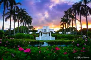 Gift Wrap Stand - laie hawaii temple jeffrey favero fine art photography