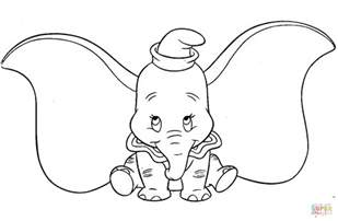 dumbo coloring pages dumbo coloring page free printable coloring pages