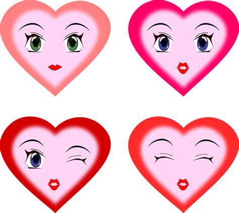 imagenes de smile of love vector gratis corazones caras expresiones imagen